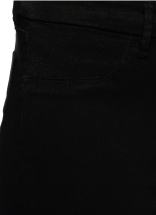 Detail View - Click To Enlarge - J Brand - 'Anja' luxe sateen cropped pants
