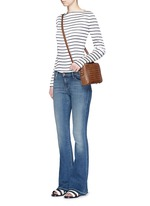 'Sneaker Flare' slim fit jeans