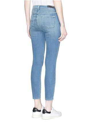 Back View - Click To Enlarge - J Brand - 'Capri' cropped skinny jeans