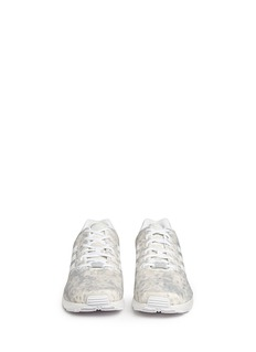 WHITE MOUNTAINEERING x adidas Originals 'ZX Flux' snow camouflage sneakers