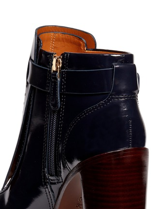 Detail View - Click To Enlarge - Tory Burch - 'Hyde' kiltie flap leather boots