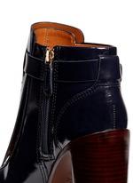 'Hyde' kiltie flap leather boots