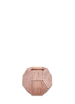 Main View - Click To Enlarge - Tom Dixon - Etch wood copper tealight candleholder
