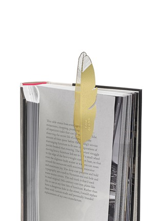 Detail View - Click To Enlarge - Tom Dixon - Tool the Bookworm quill bookmark