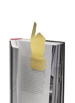 Tool the Bookworm hand bookmark