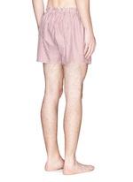 Bengal stripe boxer shorts