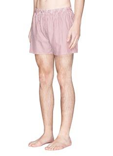 SunspelBengal stripe boxer shorts