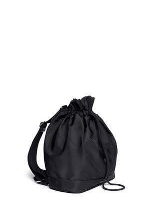 Detail View - Click To Enlarge - See by Chloé - Damia large drawstring backpack
