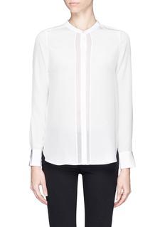 VINCESheer silk shirt