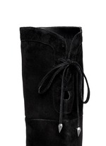 Kayla suede thigh high boots
