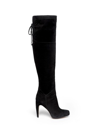 Main View - Click To Enlarge - Sam Edelman - Kayla suede thigh high boots