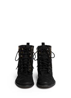 SAM EDELMANMackay nubuck leather boots