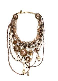 ERICKSON BEAMONStratosphere multi tier necklace