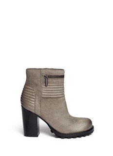 SAM EDELMAN'Fowler' quilted leather ankle boots