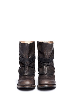 FREEBIRD'Jumpn' wrap string tie leather boots