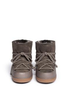 IKKII'Classic Low' lambskin shearling boots