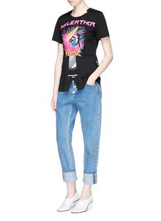 Stella McCartney'Laurel' mixed slogan print T-shirt