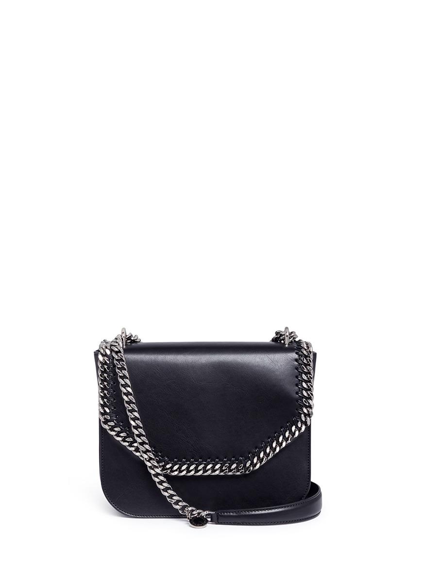 Falabella Box alter nappa chain shoulder bag by Stella McCartney