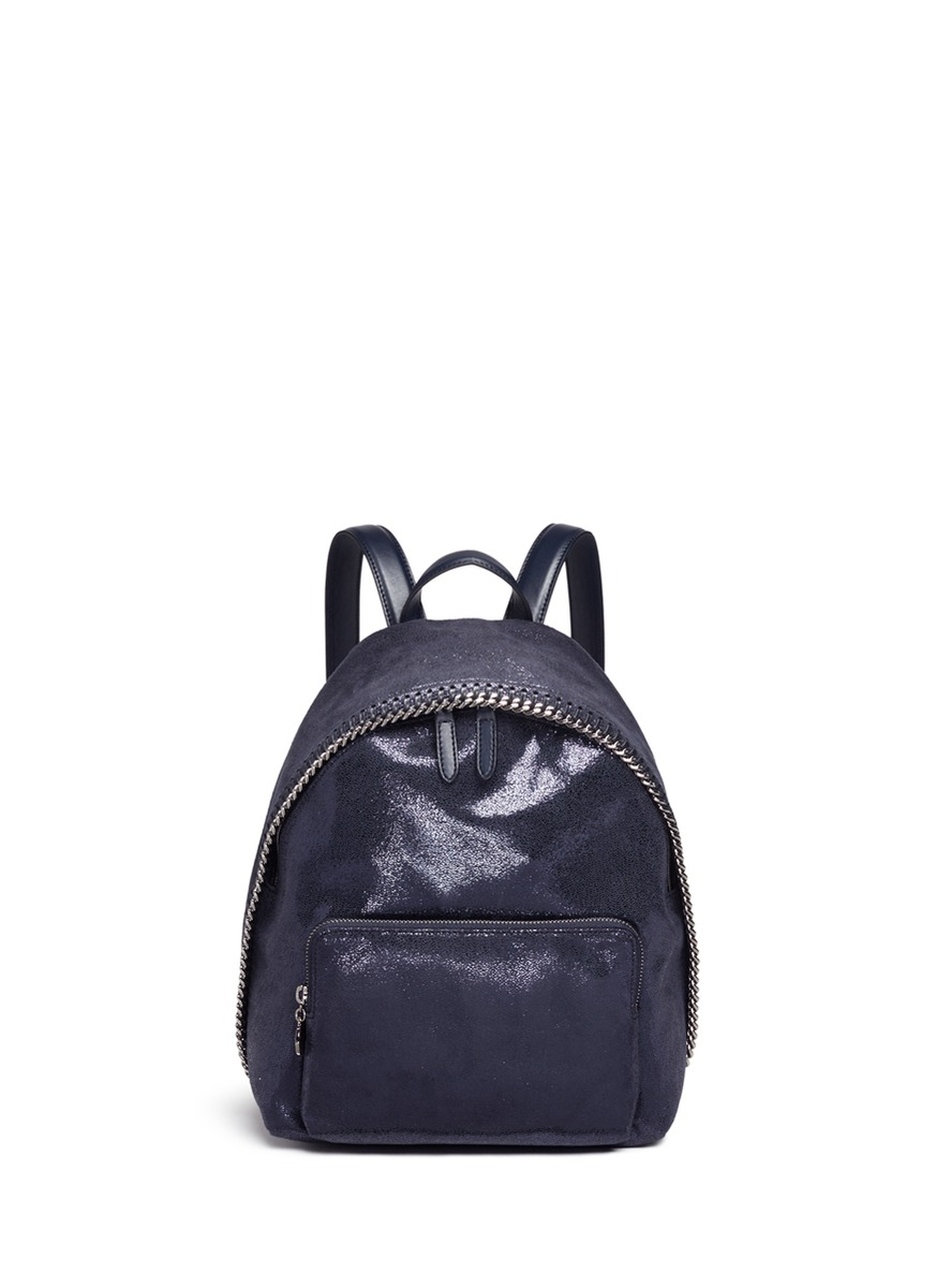 Falabella small shaggy deer backpack by Stella McCartney
