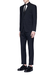 Neil Barrett Star yoke tuxedo shirt
