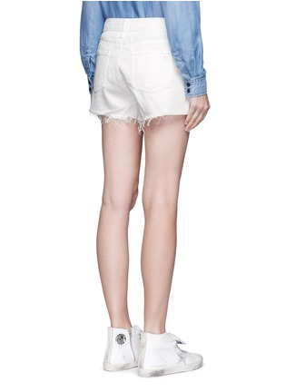 Back View - Click To Enlarge - rag & bone/JEAN - 'Cut Off' denim shorts