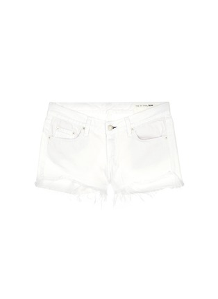 Main View - Click To Enlarge - rag & bone/JEAN - 'Cut Off' denim shorts