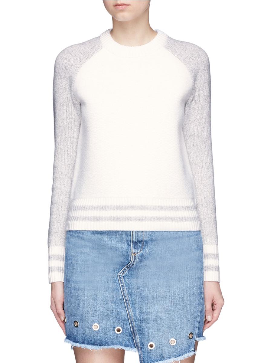 Jana raglan sleeve wool sweater by rag & bone/JEAN