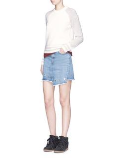 rag & bone/JEAN'Jana' raglan sleeve wool sweater
