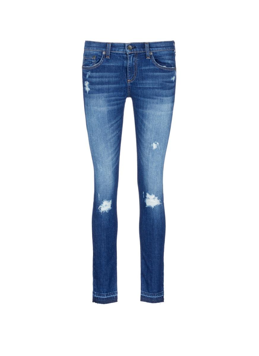 Dre distressed jeans by rag & bone/JEAN