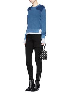 rag & bone/JEANCotton rib knit sweater