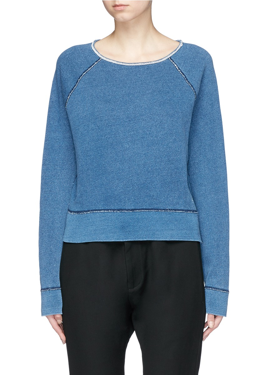 Boat neck sweatshirt by rag & bone/JEAN