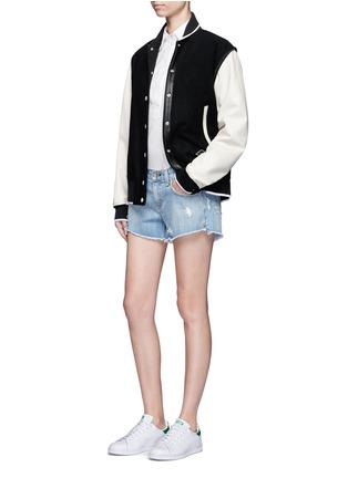 Figure View - Click To Enlarge - rag & bone/JEAN - 'Boyfriend' distressed denim shorts