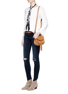 Frame Denim'Le Skinny de Jeanne' ripped knee jeans