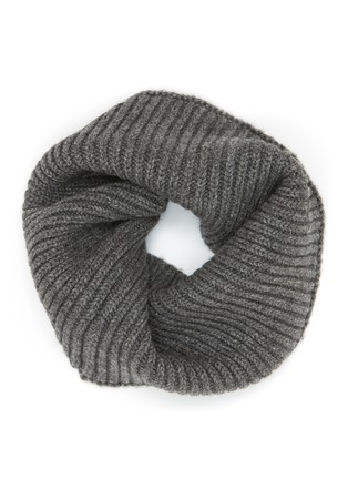 Main View - Click To Enlarge - Ms MIN - Wool-blend rib knit snood