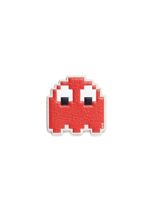 Main View - Click To Enlarge - Anya Hindmarch - 'Pac-Man Ghost' embossed leather sticker