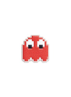 Anya Hindmarch 'Pac-Man Ghost' embossed leather sticker