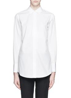 THEORY'Nareen' cotton poplin shirt