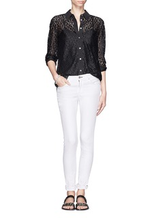 EQUIPMENT Reese floral lace shirt