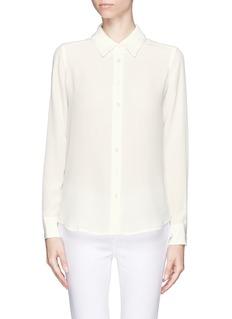 EQUIPMENTBrett embroidered collar shirt
