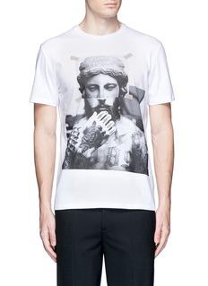 Neil Barrett'Tattoo Sculpture' print T-shirt