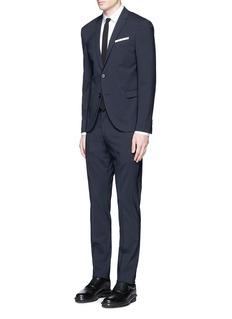 Neil BarrettSlim fit wool suit
