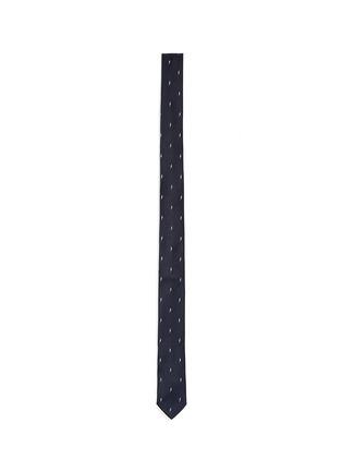 Main View - Click To Enlarge - Neil Barrett - Thunderbolt jacquard silk tie