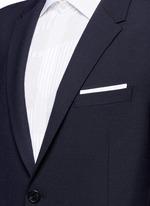 Slim fit bistretch gabardine blazer