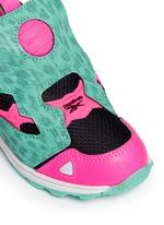 'Versa Pump Fury SYN' animal print toddler sneakers