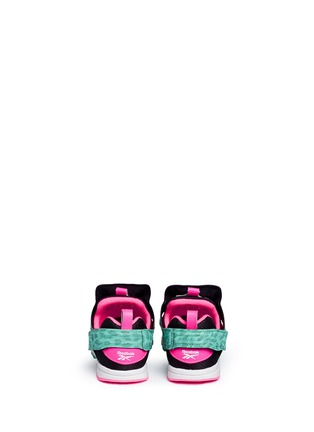 Back View - Click To Enlarge - Reebok - 'Versa Pump Fury SYN' animal print toddler sneakers