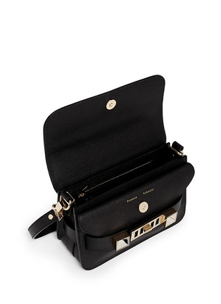 Detail View - Click To Enlarge - Proenza Schouler - 'PS11 Mini Classic' Linosa leather satchel