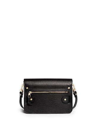 Back View - Click To Enlarge - Proenza Schouler - 'PS11 Mini Classic' Linosa leather satchel