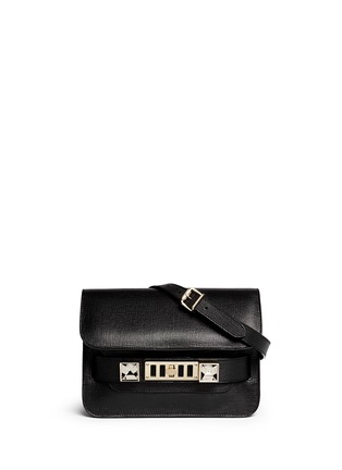 Main View - Click To Enlarge - Proenza Schouler - 'PS11 Mini Classic' Linosa leather satchel