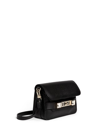 Figure View - Click To Enlarge - Proenza Schouler - 'PS11 Mini Classic' Linosa leather satchel