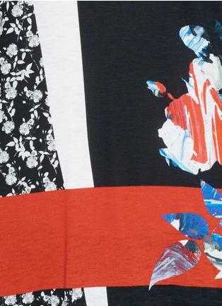 Detail View - Click To Enlarge - PRABAL GURUNG - Graphic modal jersey T-shirt